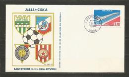 FRANCE - FUTBOL ASSE@CSKA 1976 Year   - D 3086 - Championnat D'Europe (UEFA)