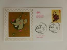 RAT - Mammifère / Rongeur - Nouvel An Chinois / Année Du Rat - Enveloppe Premier Jour CEF Avec Timbre - Rodents