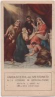 Santino Con L'Ambasceria Dei Messinesi Alla Vergine In Gerusalemme. Anno 1922 Messina - Santini