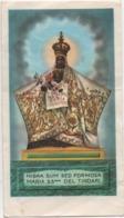 Santino Di Maria Santissima Di Tindari (Messina) - Devotieprenten