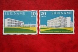 Gelegenheidszegels Hospitals; NVPH 388-389  Mi 425-426; 1962 MH / Ongebruikt SURINAME / SURINAM - Surinam ... - 1975
