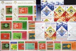CEPT Stamps 2006 TK 3491/4,2VB,Blocks 58/59,Ukraina 766/7 4-Block,KD-VB+Bl.54 ** 96€ Blocs/sheets Bf 50 Year EUROPA - Ukraine