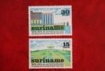 Machinale LAndbouw ; NVPH Nr: 623-624 Mi 673-674 ; 1974 MNH / Postfris SURINAME / SURINAM - Surinam ... - 1975
