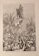 Illustrations De Georges SCOTT  La Révolution De Panama  - 1903 - Vieux Papiers