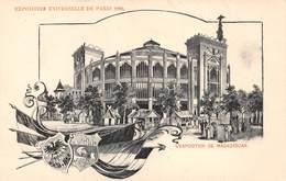 18-5216 : EXPOSITION UNIVERSELLE 1900. PARIS. CARTE ILLUSTREE. MADAGASCAR. - Expositions