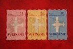 Herdenkingszegels Inland Airmail ; NVPH Nr: 540-542 Mi 581-583 ; 1970 MNH / Postfris SURINAME / SURINAM - Surinam ... - 1975
