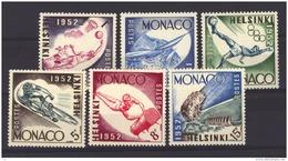 Monaco  :  Yv  386-91  * - Monaco