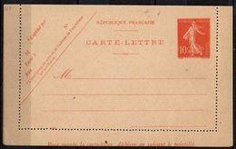 FRANCE - 10 C. Camée Maigre Date 637 - Postal Stamped Stationery