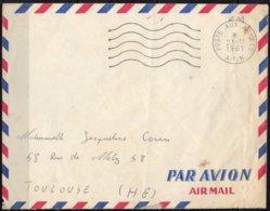 FRANCE - Lettre Du 23/11/1961 - Storia Postale