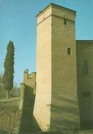 """Fiorano Modenese (MO) Torrione E Affreschi Castello Spezzano """"Presentaz. Interventi Studio/Restauro"""" 1987, 2 Cartoline - Modena"""