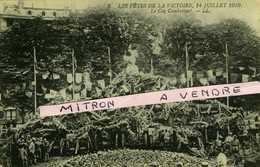 GUERRE De 1914-1918. Fêtes De La Victoire , 14 Juillet 1919. Le Coq Combattant - 1914-18