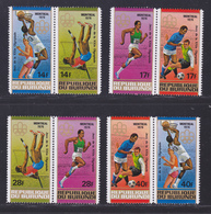BURUNDI N°  685 à 692, AERIENS 423 à 428 ** MNH Neufs Sans Charnière, TB (D7962) Jeux Olympiques De Montréal - 1976 - Burundi