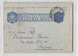 AG10211 01 POSTA MILITARE 95 42 OSPEDALE DA CAMPO X NAPOLI - 1900-44 Vittorio Emanuele III