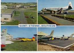 42  ST ETIENNE Aeroport Vue Generale Aviation Commerciale Aviation Generale Aviation D'affaires - Saint Etienne