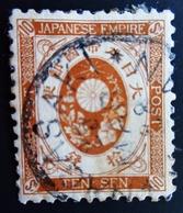 1888 Japon Yt 81 .  New Koban (1888-1892) . 10 Sen Orange Brown - Japon