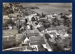 Pellaines ( Lincent). Vue Aérienne Avec L'église St. Barthélemy Et Le Cimetière - Lincent