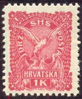 CROATIA - JUGOSLAVIA - SHS - FALCON Bird  1 Kr - **MNH - 1919 - Eagles & Birds Of Prey