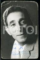 ORIGINAL SIGNED PHOTO FOTO ACTOR TEATRO OSCAR ACURSIO PORTUGAL - Entertainers