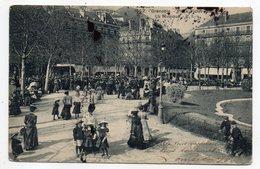 GRENOBLE--1909--Place Victor Hugo--La Musique (très Animée)...........à  Saisir - Grenoble