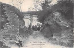 60 - CREIL : Les Tufs ( Maison Souterraines ) - CPA - Oise - Creil