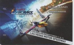 Carte Clé Hôtel Avec Casino Adjoint : MGM Grand : Las Vegas Motor Speedway - Cartes D'hotel