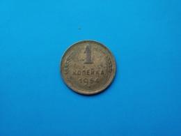 URSS - CCCP  1 Kopeck  1954   --TTB-- - Rusland