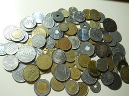 650 Grams World Coins (Around 3 Or 4 Coins Have Some Glue) - Coins & Banknotes
