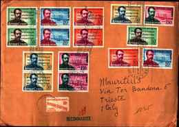 74612) 1960 FDC HAITI COMPOSER OCCIDE JEANTY IL 19-10-1960-3 SERIE COMPLETE - Tahiti