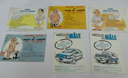 HUMOUR . ARGUS De L' HOMME . Petit Lot De 6 Cartes . - Humour