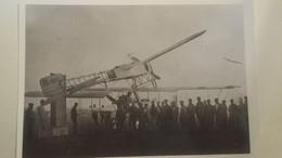 Ancienne Photo Avion ; Un Blèriot Se Pose Sur Un Autre : 13x18 Cm - Aviation