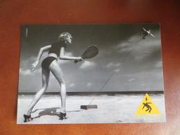 CPM PUBLICITAIRE KOOKAI - Pin Up Plage Beach Voley - Moda