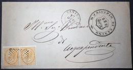 Annullo Numerale CANINO Numerali Lazio - 1861-78 Victor Emmanuel II.