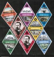 VENEZUELA   Scott # 1100-7* VF MINT LH (Stamp Scan # 438) - Venezuela