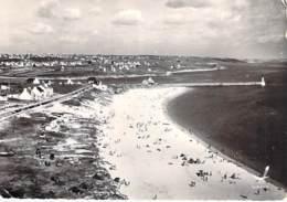 29 - AUDIERNE : La Plage - CPSM Dentelée Noir Et Blanc Grand Format 1961 - Finistère - Audierne