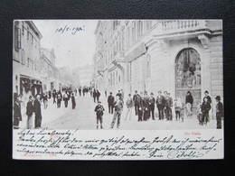 AK POLA Pula Via Giulia 1901 //  D*35713 - Kroatien