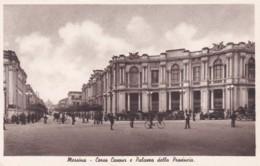 MESSINA -CORSO CAVOUR E PALAZZO DELLA PTOVINCIA - Messina
