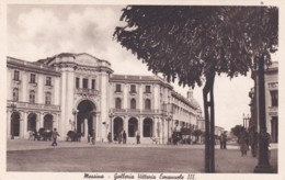 MESSINA -GALLERIA VITTORIA EMANUELE 111 - Messina