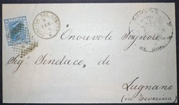 Annullo Numerale SORIANO NEL CIMINO Numerali Lazio - 1861-78 Vittorio Emanuele II