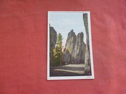 Rock Formation  At Needles  Black Hills  South Dakota     Ref 3108 - Verenigde Staten
