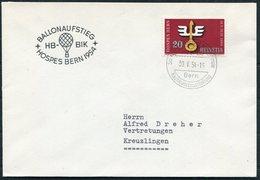 1954 SWITZERLAND BALLONAUFSTIEG HOSPES BERN Ausstellung - Switzerland