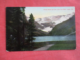 Canada > Alberta >  Victoria Glacier & Lake Louise  From Chalet Laggan Alta  Crease  Ref 3108 - Lac Louise