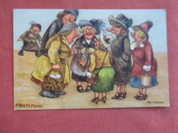 Pratstund Group Of Ladies  Signed Artist   Ref 3108 - Humour
