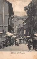 CPA Chinese Street Scene - Chine