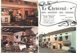 "/ CPSM FRANCE 21 ""Nolay, Hôtel Restaurant Le Chevreuil"" - Frankrijk"