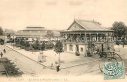 Kp78246 Vichy_Allier La Justice De Paix Et Les Halles Vichy Allier - France