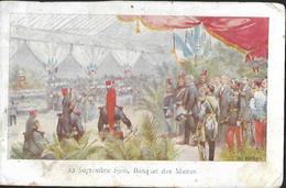 22 Septembre 1900, Banquet Des Maires 2è Choix - Réceptions