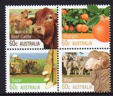 AUSTRALIA, 2012 FARMING BLOCK 4 MNH - 2010-... Elizabeth II