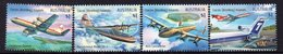 COCOS Is, 2017 PLANES 4 MNH - Isole Cocos (Keeling)