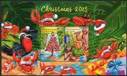 CHRISTMAS Is, 2015 XMAS MINISHEET MNH - Christmas Island