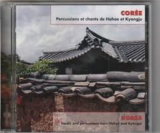 Cd  Percussions Et Chants De Hahoe Et Kyongju  Etat: TTB Port 110 Gr Ou 30gr - Musiques Du Monde